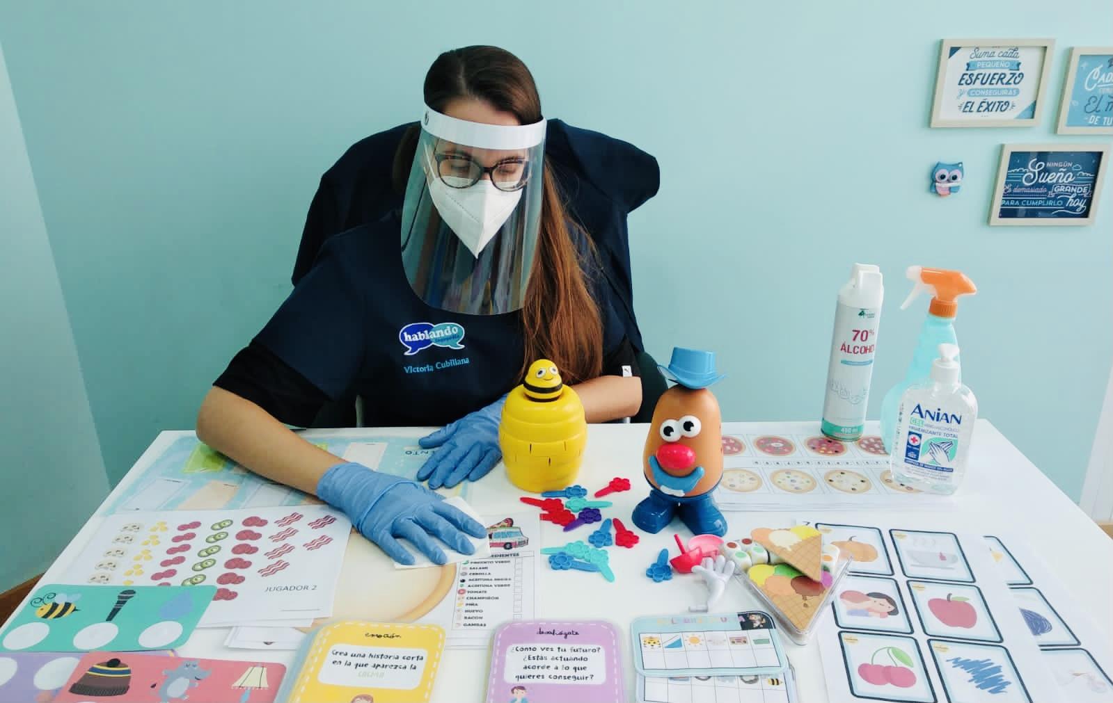 Logopedia: terapia segura en época de pandemia